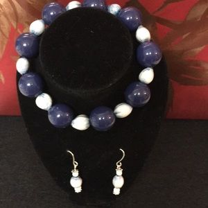 Jewelry - Handmade bracelet and earring Set